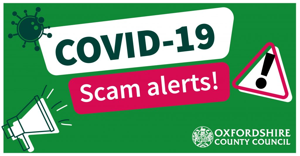 Scam advice for residents (charity worker scams), Shipton Under Wychwood Parish Council