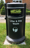 West Oxfordshire Litter Bin Placement and Renewal Programme, Shipton Under Wychwood Parish Council